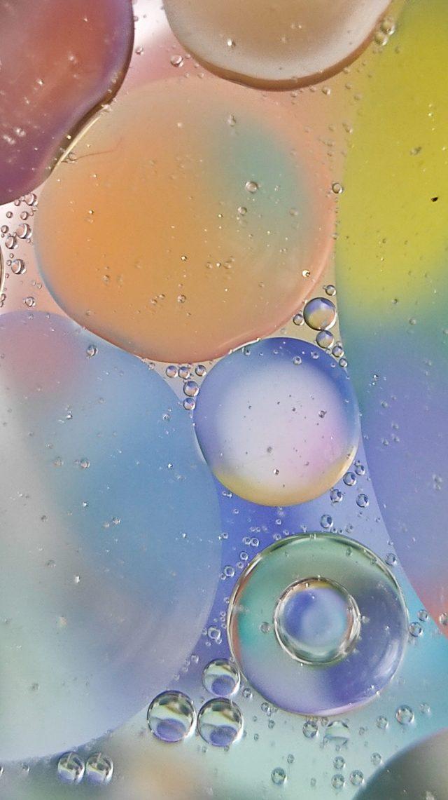 Oily water illustration