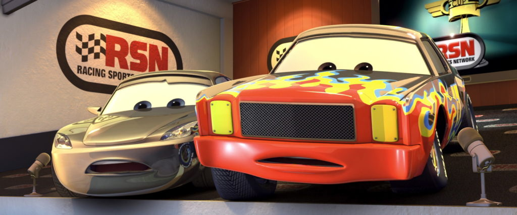 Darrell Cartrip character from Cars  PixarPlanetFr