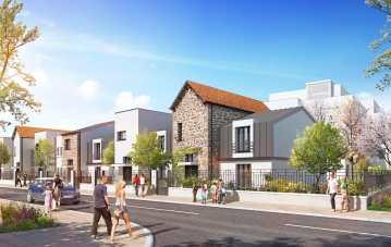 Perspectives Villas Projet Grand Paris Aménagement - Saint-Maur-des-Fossés - Client : A26 Architecture