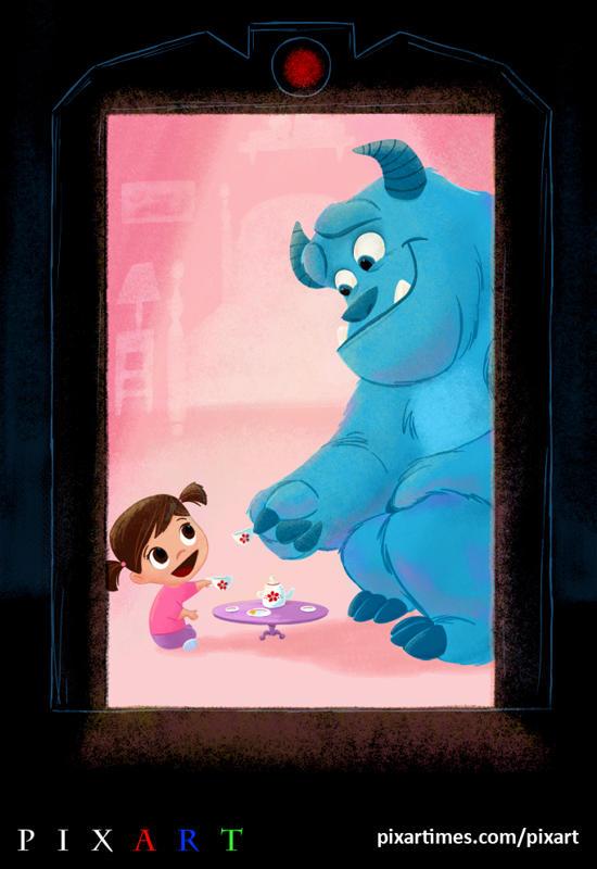 Inside Out Pixar Disney Parks