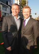 Disney CEO Bob Iger and Kevin McKidd
