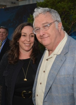 Pixar Composer Randy Newman and wife Gretchen Preece