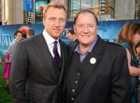 Kevin McKidd and John Lasseter
