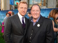 Kevin McKidd and John Lasseter
