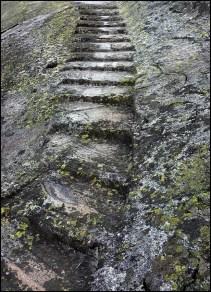 wan3_Treppe im Granitfelsen am Grimselpass