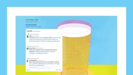 Craft Beer Bot app design & development