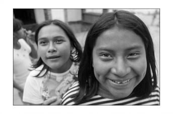 girls at the orpahange