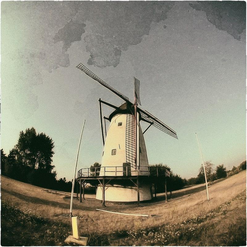 Romantische Mühle