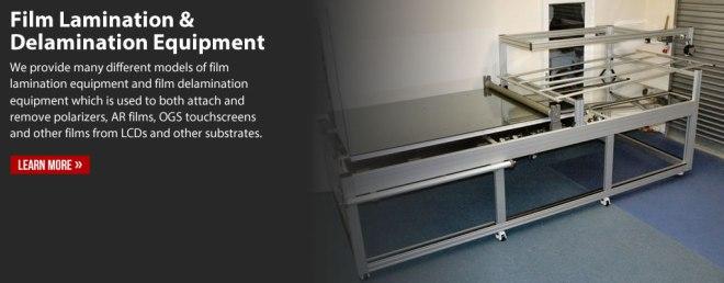 Film Lamination and Film Delamination Equipment