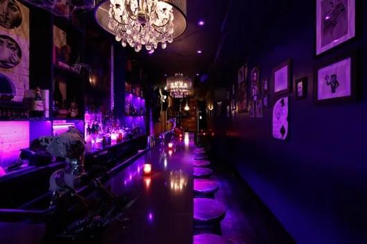 Inside the Tim BurtonThemed Bar  Grub Street