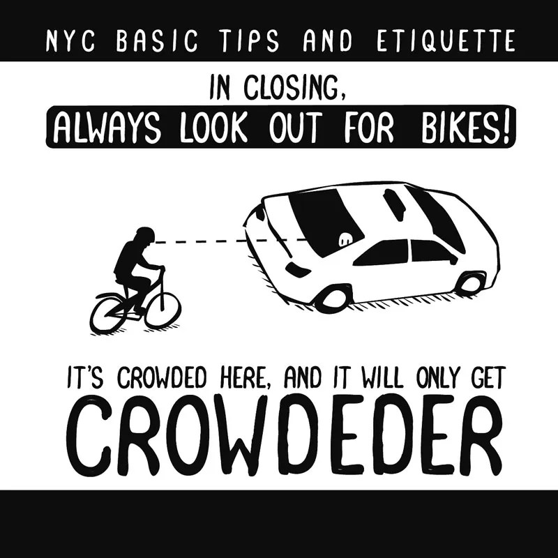 13 NYC Cycling Tips and Citi Bike Tricks, in GIFs