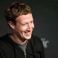 Facebook Founder and CEO Mark Zuckerberg speaks during an interview session with The Atlantic at the Newseum in Washington, DC, on September 18, 2013.