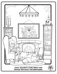 Satanists Release Cute and Cuddly Coloring Book -- NYMag