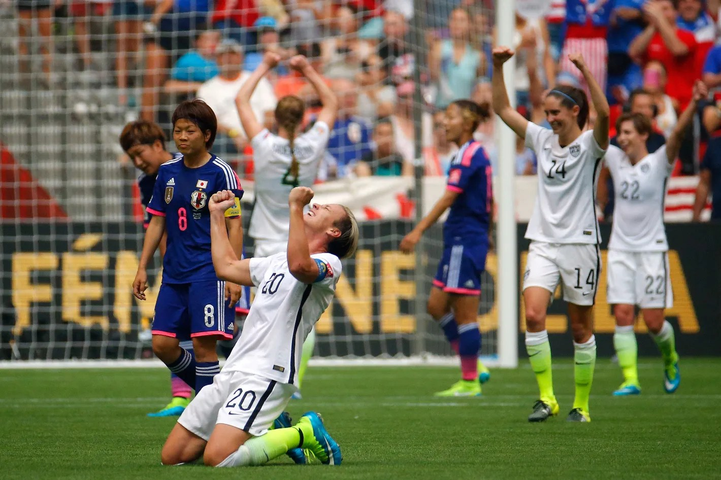 Resultado de imagen de world cup women japan united states