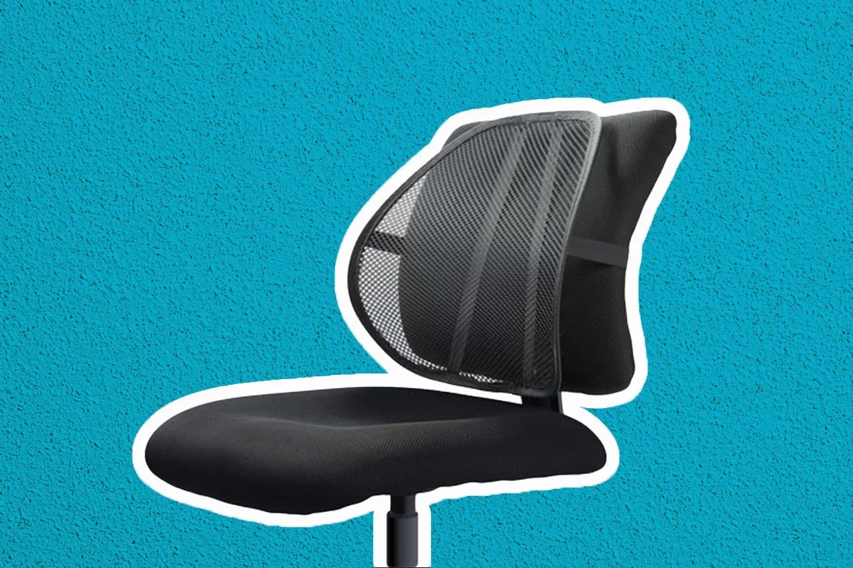 Back Supports For Chairs The Best Lumbar Support For Your Office Chair
