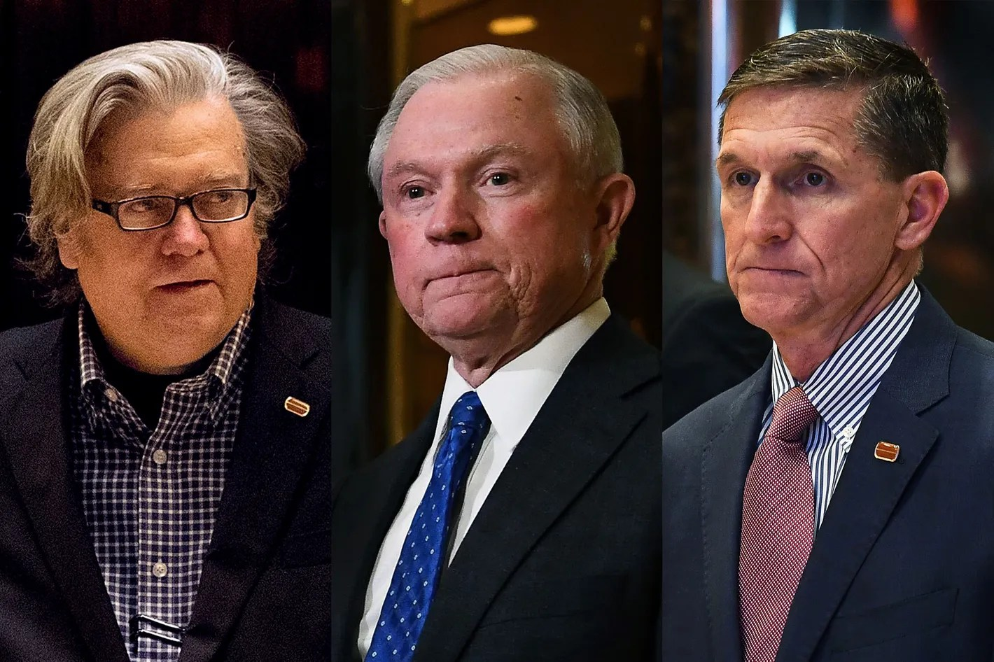 Image result for photo of sessions flynn bannon