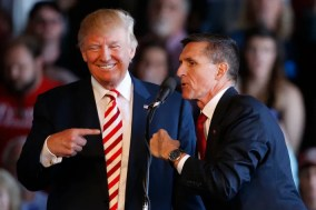 Image result for flynn trump