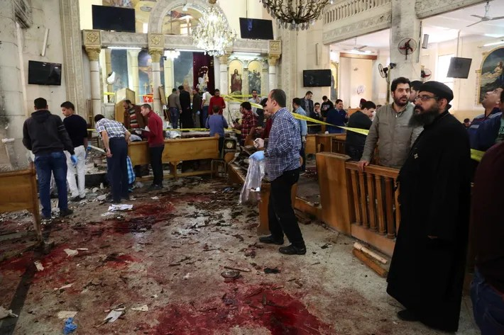 Image result for coptic bombing palm sunday