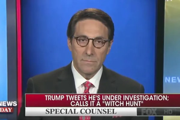 Trump's Lawyer Says President Is Not Under Investigation
