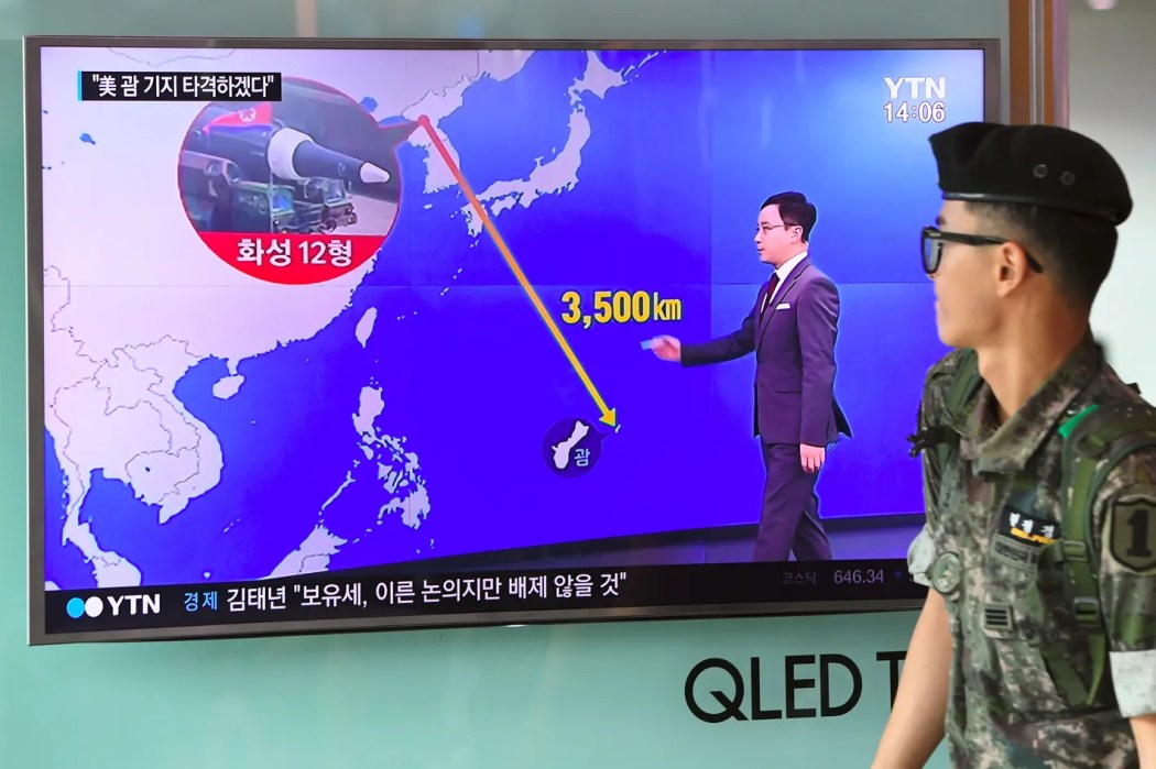 Image result for North Korea Says It Will Attack U.S. Territory of Guam If Trump Keeps Tweeting Threats