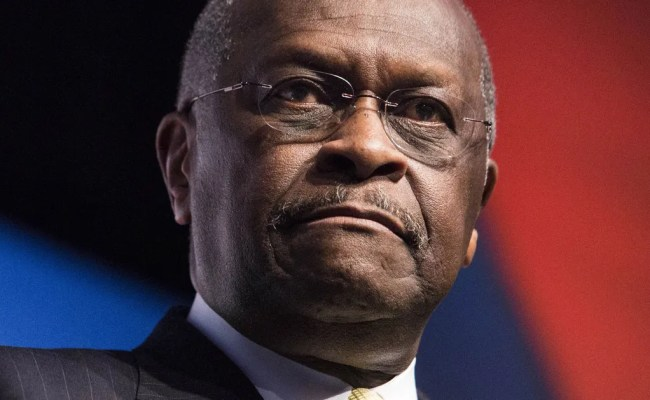 Trump Says Herman Cain Withdrew From Federal Reserve Search