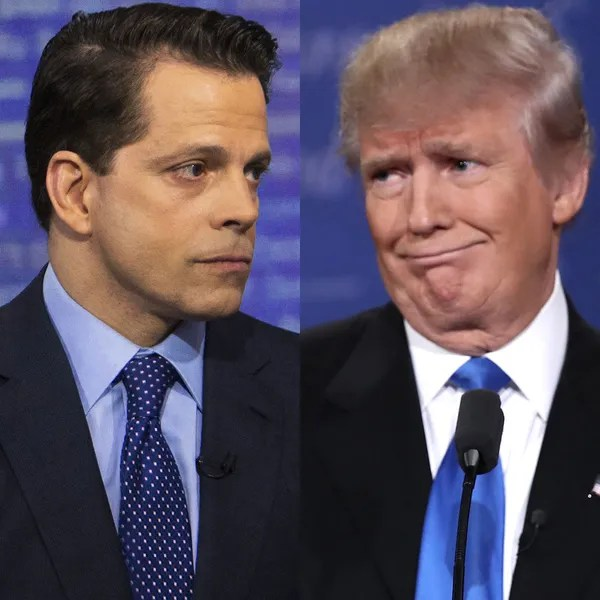 Image result for trump scaramucci