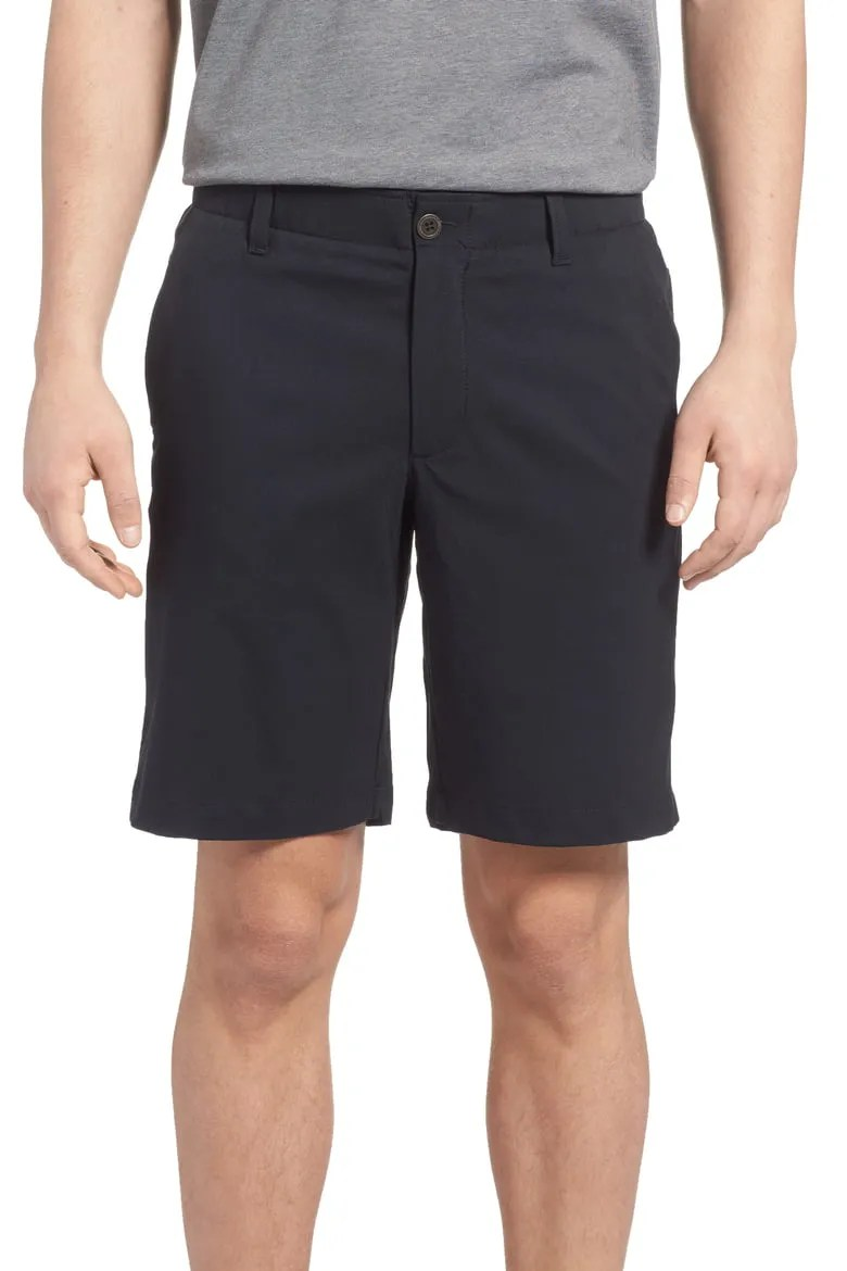 Under Armour Takeover Regular Fit Golf Shorts, Black