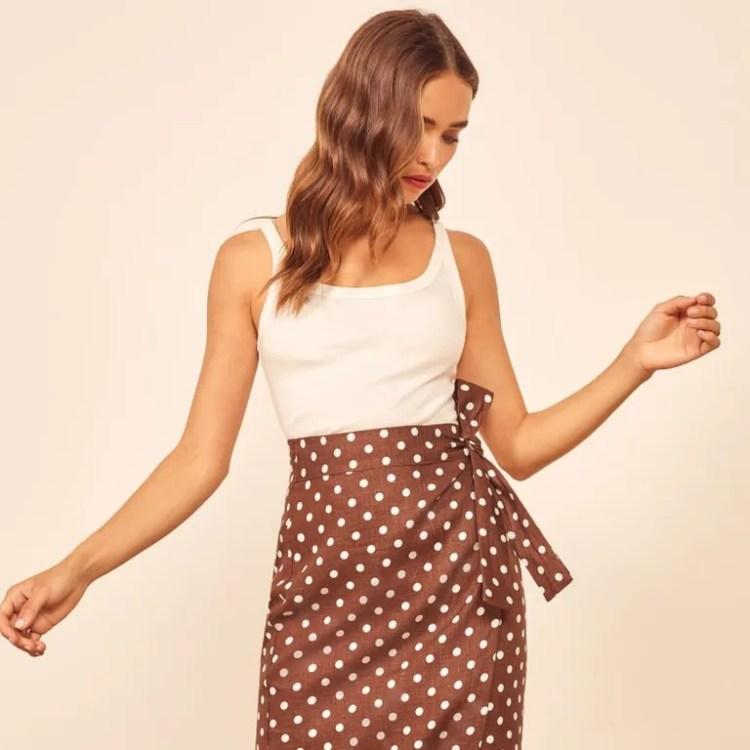Reformation Florence Skirt