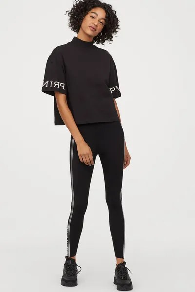 H&M x Pringle of Scotland Fine-Knit Leggings