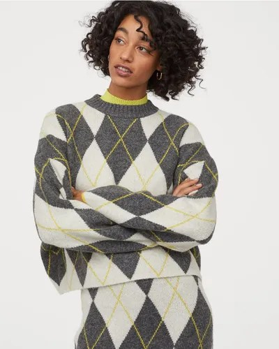 H&M x Pringle of Scotland Jacquard-Knit Sweater