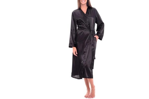 Bathrobes Women - Silk Terry Cloth Satin Robes