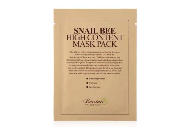 Snail Bee High Content Sheet Mask Pack
