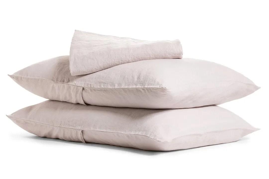 Parachute Linen Sheet Set Fitted Sheet + Pillowcase(s)