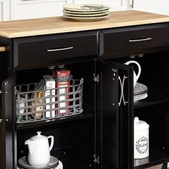 Amazon Kitchen Cart Oil Rubbed Bronze Island Lighting The 14 Best Butcher Block Islands And Carts 2018 On According To Hyperenthusiastic Reviewers