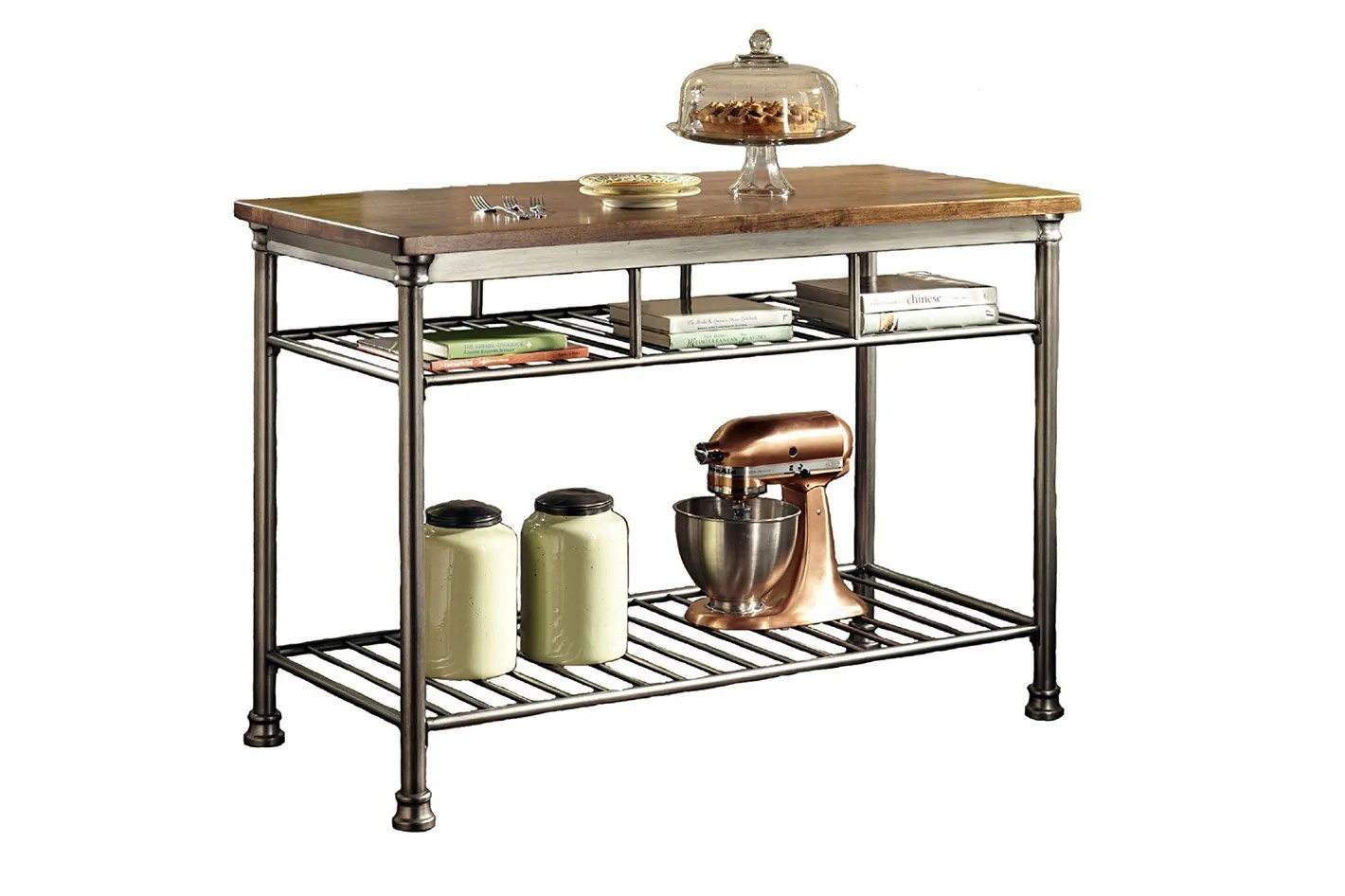 kitchen carts rustic sinks the 14 best butcher block islands and 2018 home styles orleans island