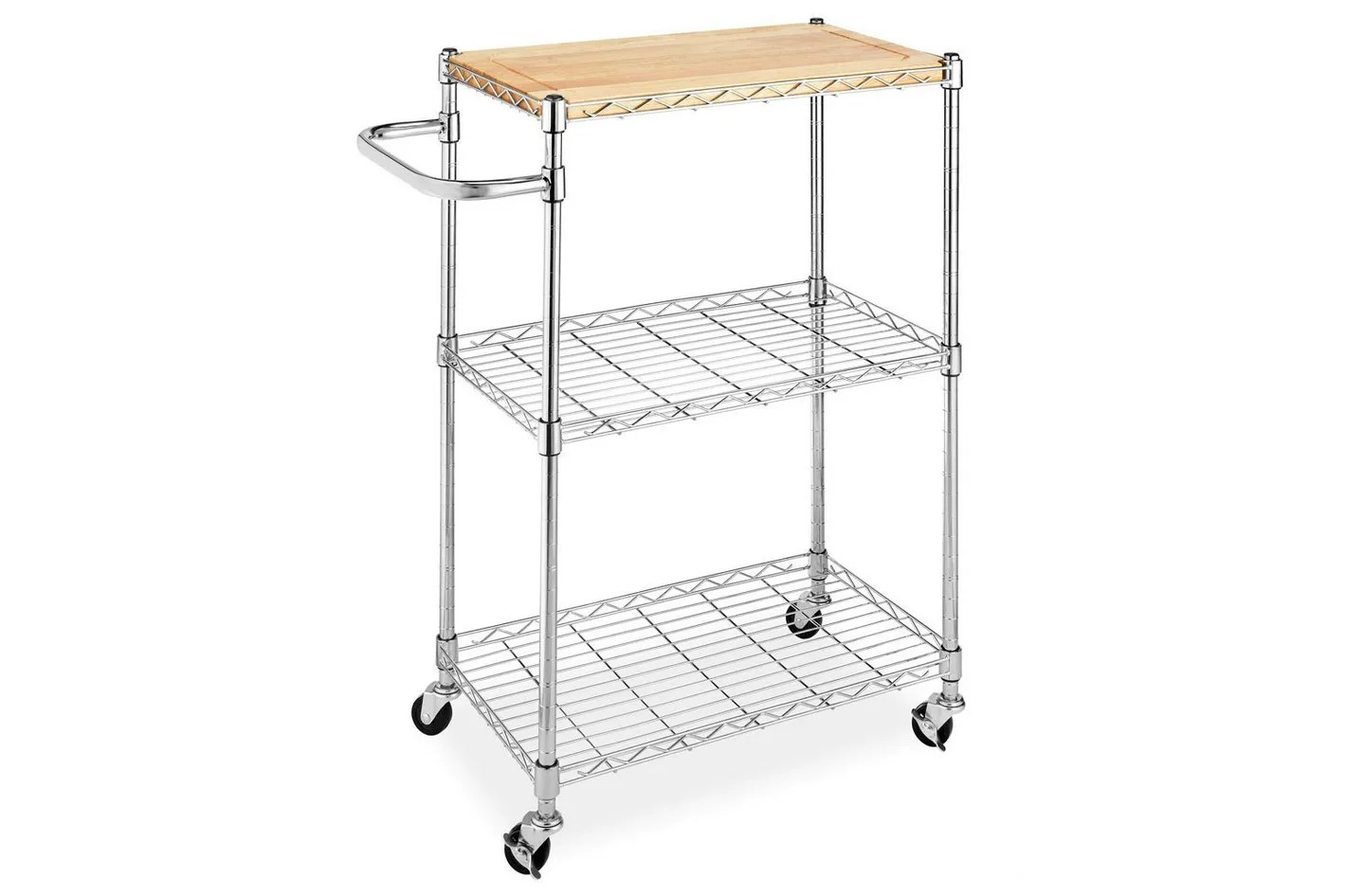 kitchen carts on wheels bistro the 14 best butcher block islands and  2018