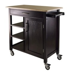 Rolling Kitchen Carts Cabinet Lazy Susan The 14 Best Butcher Block Islands And 2018 Winsome Mali Cart