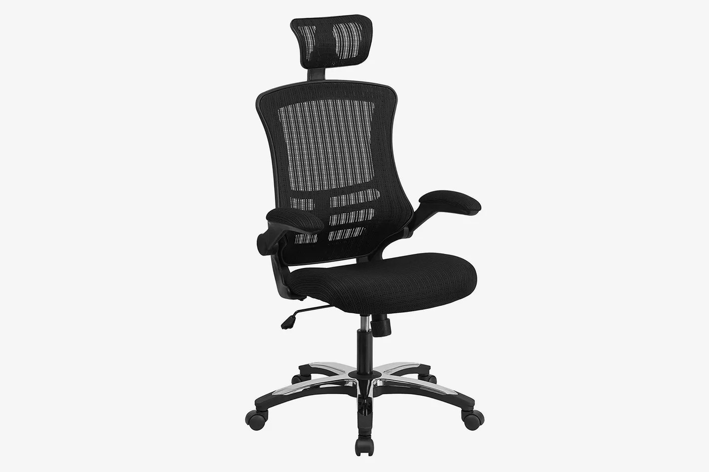 Workpro Commercial Mesh Back Executive Chair Black Mid Back Super Mesh Office Chair With Black Fabric Seat