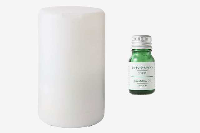 Muji Aroma Diffuser With Essential Oil Set