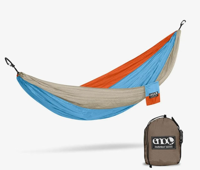 The Best Lightweight Camping Hammock Under  Eagles Nest Outfitters Eno Doublenest Hammock