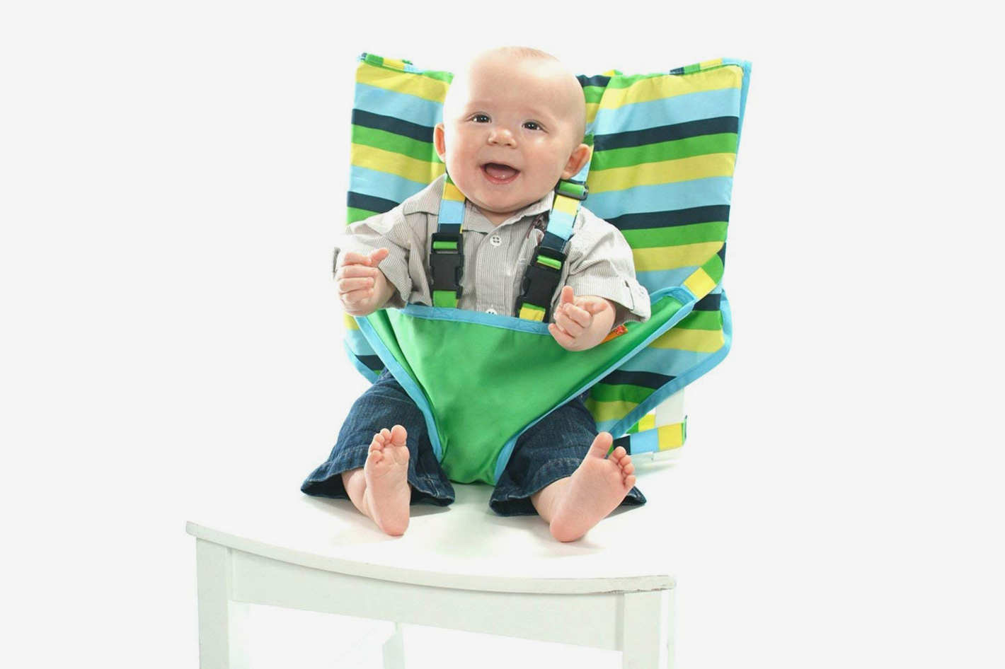 portable high chair baby spandex covers navy blue 13 best booster chairs 2018 my little seat travel