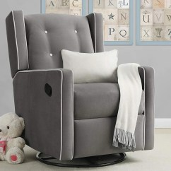Chairs For Baby Room Desk Chair Upper Back Support The 15 Best Rocking 2018 Nursery Glider Relax Mikayla Swivel Gliding Recliner