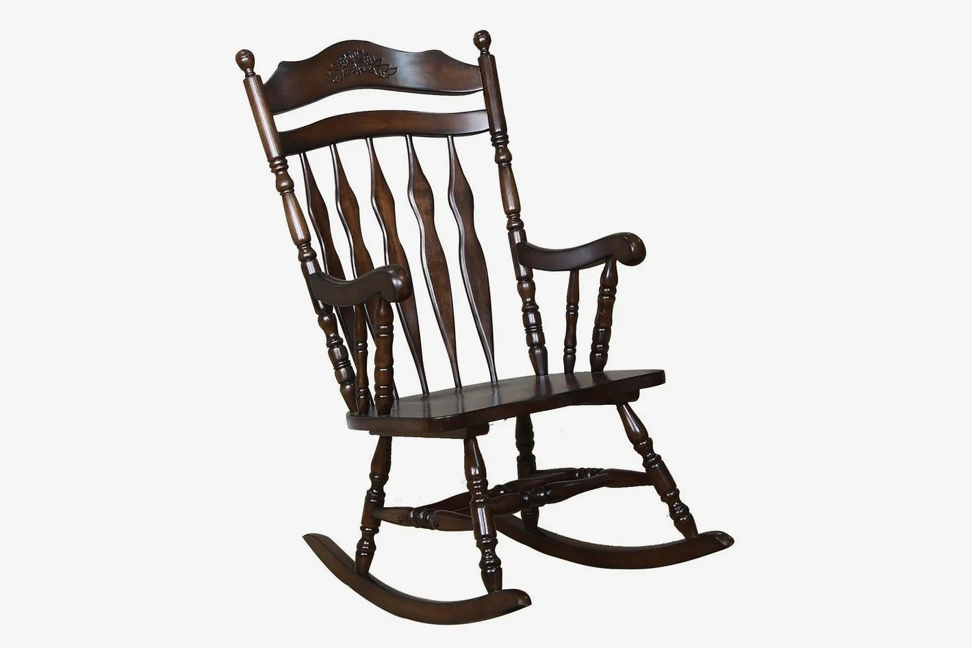 what is a rocking chair backyard fire pit chairs the 15 best 2018 coaster home furnishings traditional medium brown wood