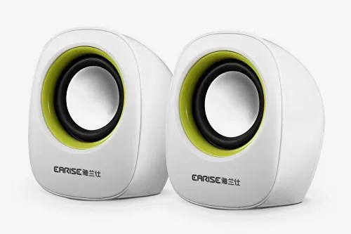 Earise AL-101 3.5mm Mini Computer Speakers