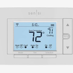 Honeywell Wifi Thermostat Kit Bell Hd Satellite Wiring Diagram 7 Best Wi Fi Thermostats 2018 Emerson Sensi
