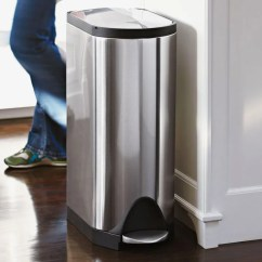 Simplehuman Kitchen Trash Can Outlets 5 Best Cans According To Pro Home Cooks 2018 The Professional Recipe Testers
