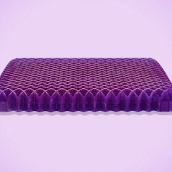 Gel Cushion For Chairs Chair Covers Parties Purple Royal Seat Review 2018 This Lets Me Work From A Dining Hours