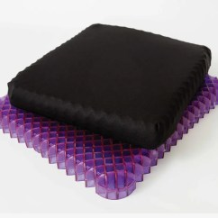Gel Cushion For Chairs Chair Covers Sale Cape Town Purple Royal Seat Review 2018