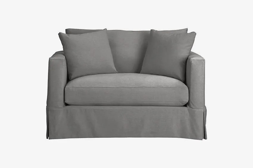 twin chair sleeper sofa swivel que es en español 18 best sofas beds and pullout couches 2018 willow modern slipcovered
