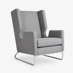 Wing Chair Recliner Canada Ultra Comfort Lift 9 Best Lounge Chairs With Back Support 2018 Danforth Wingback